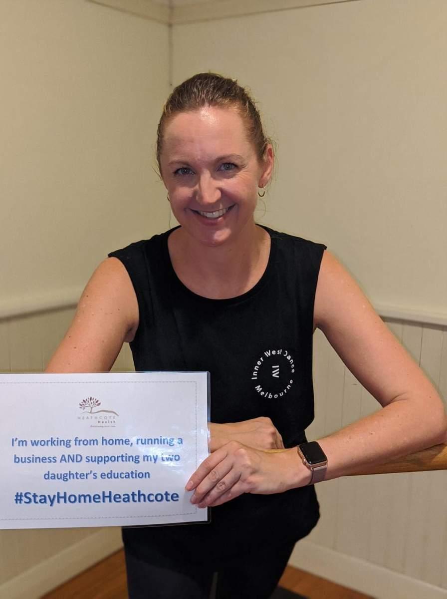 StayHomeHeathcote-Rebecca-Holding-Heathcote-Health-Board-Director-2