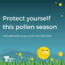 Protect yourself this pollen season